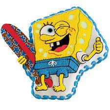 hang ten with spongebob cake wilton