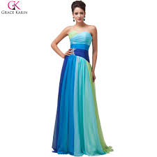 aliexpress com buy plus size evening dress party ombre colorful