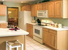 Kitchen Wall Colors With Light Wood Cabinets Oak Cupboards With White Appliances U0027re Going To Swap The