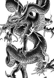 dragon tattoo design by george bardadim tattoonow