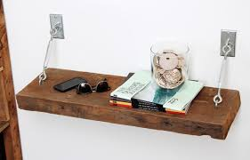Barn Wood Floating Shelves by Turnbuckle Shelves With Reclaimed Wood Contemporary Bedroom