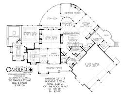 Mountain House Floor Plans by Tranquility 5641 House Plan House Plans By Garrell Associates