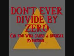 Divide By Zero Meme - divide by 0 divide by zero know your meme