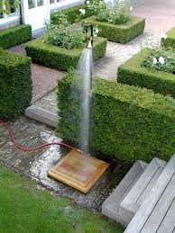 outdoor showers cool off outdoors