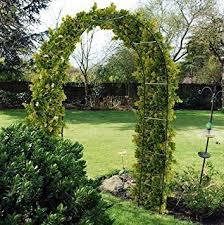 Trellis For Climbers 2 4m Steel Garden Arch For Climbing Plants Trellis Outdoor Path