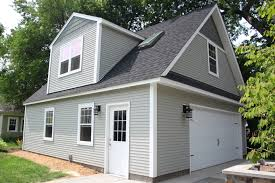 Size 2 Car Garage by 2 Car 2 Story Garage Using Attic Trusses And Dormer
