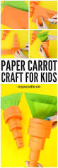 paper carrot craft easy peasy and fun
