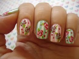 6 flower nail art designs best nail designs