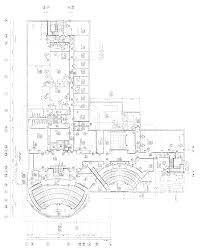 gates building blueprints