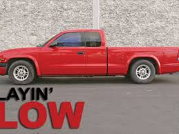 dodge dakota joint recall 2000 dodge dakota djm suspension drop truckin magazine