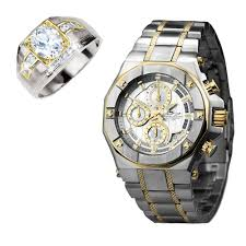 ring sets phantom two tone oxford ring set timepieces international