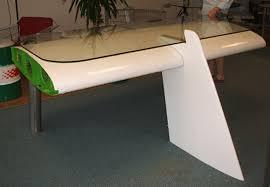 aircraft wing desk for sale deborah reestore inhabitat green design innovation