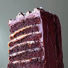 salted caramel six layer chocolate cake recipe caramel