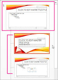 create or customize a slide master powerpoint