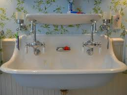 double faucet trough bathroom sink u2013 cutme me