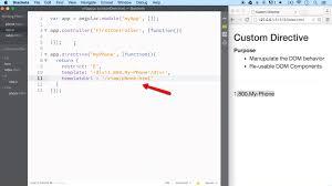 custom directives in angular js ilovecoding