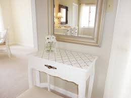 moroccan style small white vanity desk for mixed corner