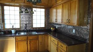 kitchen tin backsplash wall tin traditional kitchen ta by tin