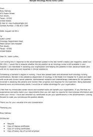 Cover Letter For New Grad Nurse New Graduate Nurse Cover Letter Sample