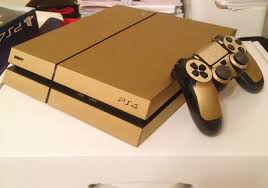 Wrapping Wrapping Ps4 And Controller Gold Youtube