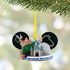disney walt disney world ear hat ornament with tinker