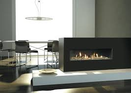long modern gas fireplace contemporary electric fake design