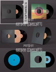 media u0027s arsenal psd templates vinyl record mockup templates