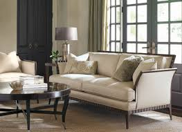 Beige Fabric Sofa Tristan Modern Wood Trim Beige Fabric Sofa Couch Chair Living Room