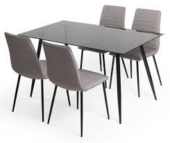 table et 4 chaises table 4 chaises porto noir