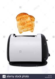 Toasters Toast Toast Toaster With Toast Popping Out Stock Photo Royalty Free Image