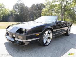 88 camaro iroc z for sale 1988 black chevrolet camaro z28 iroc z convertible 28196413