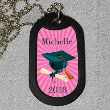 personalized graduation dog tags