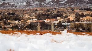 snow covered sahara desert in the photo earth chronicles news