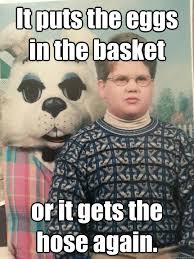 Creepy Meme - eggs in one basket creepy meme from the left field