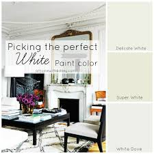 how to pick the perfect white paint color at home with ashley