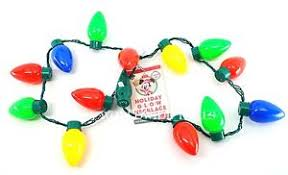flashing christmas light bulbs new disney parks led christmas light up holiday glow necklace