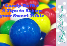candy buffet 5 tips to make and set up your sweet table youtube