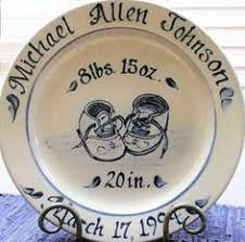 birth plates personalized williamsburg delft birth plates baby things delft