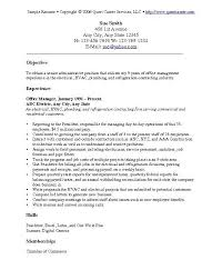 general resume objective examples resume example and free resume