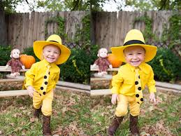 Curious George Halloween Costumes Awesome Costume Man Yellow Hat Toddler Halloween