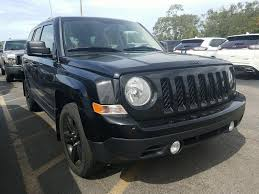 2015 jeep patriot pre owned 2015 jeep patriot altitude edition with black wheels