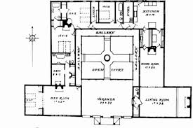 courtyard house floor plans 27 elegant collection of u shaped floor plans with courtyard pole