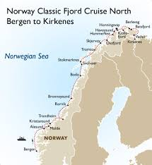 Norwegian Air Route Map by Norway Classic Fjord Cruise North Norway Vacations Goway Travel