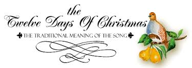 greetings from kimberly shaw meaning of the 12 days of