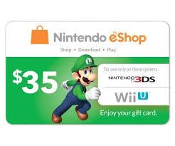eshop gift cards nintendo eshop gift card 35 usd digital code us