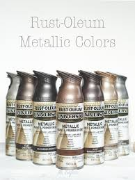 rust oleum metallic spray paints metallic spray paint spray