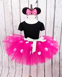 mouse halloween costume toddler iefiel pink girls polka dots tutu minnie mouse dress with