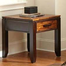 leick corner accent table leick corner accent table furniture shaker square end table in