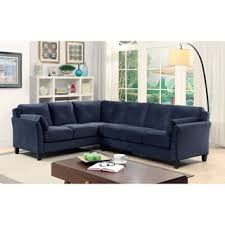 Blue Velvet Sectional Sofa by Blue Sectional Sofas Shop The Best Deals For Oct 2017