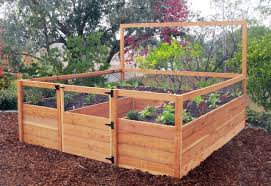 diy raised garden beds build raised garden bed against fence youtube